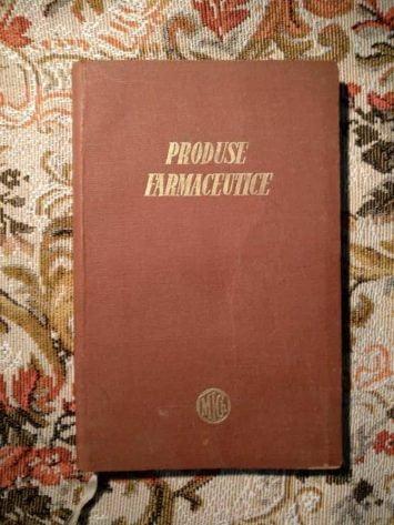 Produse farmaceutice - ministerul industriei chimice 1956-1957 8
