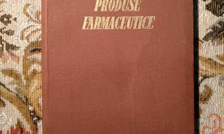 Produse farmaceutice - ministerul industriei chimice 1956-1957 5